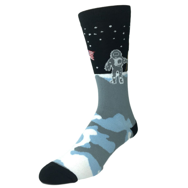 Man On The Moon Socks Made In America By K Bell