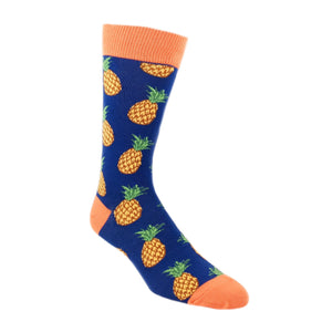 Many Pineapples Socks by SockSmith - The Sock Spot
