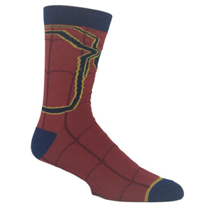 Marvel Avengers Infinity War Iron Spider-Man Superhero Socks - The Sock Spot