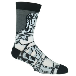 Marvel Captain America Color Yourself Superhero Socks - The Sock Spot