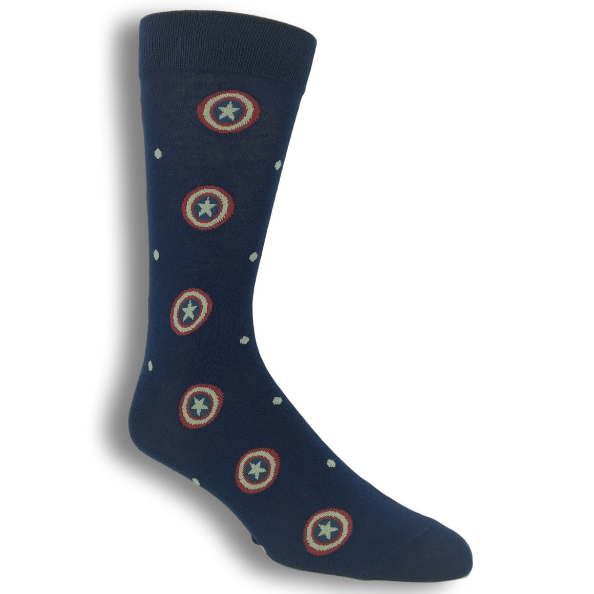 Marvel Captain America Superhero Dress Socks - The Sock Spot