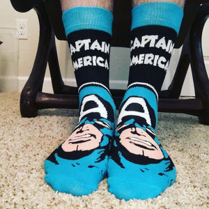 Socks - Marvel Captain America Headline Socks
