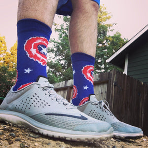 Socks - Marvel Captain America Painted Shield Socks
