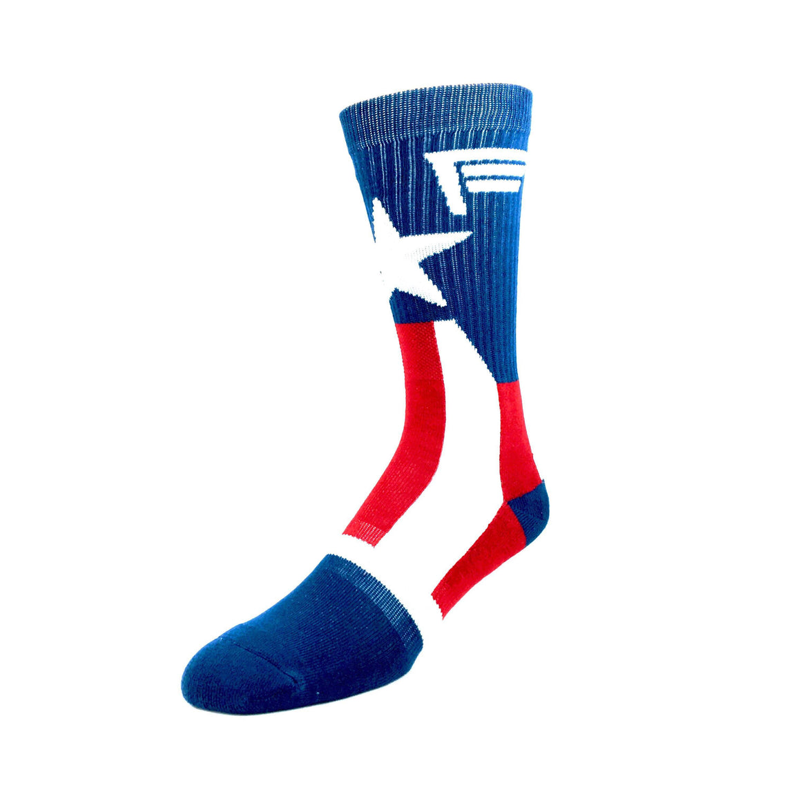Marvel Captain America Suit Up Athletic Superhero Socks