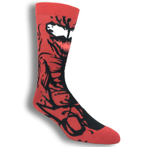 Marvel Carnage 360 Superhero Socks - The Sock Spot