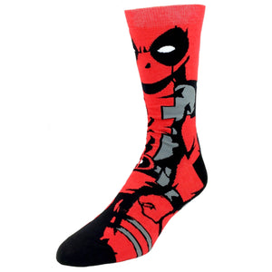 Socks - Marvel Deadpool 360 Crew Socks
