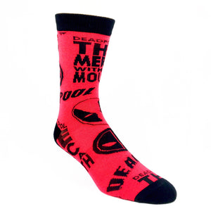 Socks - Marvel Deadpool All Over Socks