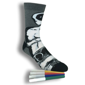 Socks - Marvel Deadpool Color Yourself Socks
