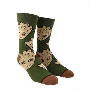 Socks - Marvel Guardians Of The Galaxy Groot Large All Over Print Socks