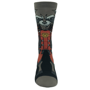 Marvel Guardians of the Galaxy Rocket Raccoon 360 Socks - The Sock Spot