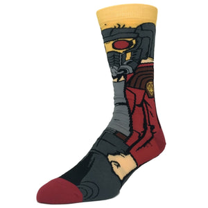 Marvel Guardians of the Galaxy Starlord 360 Socks - The Sock Spot