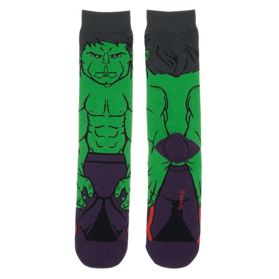 Socks - Marvel Hulk 360 Superhero Socks
