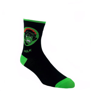 Marvel Hulk Feature Superhero Socks