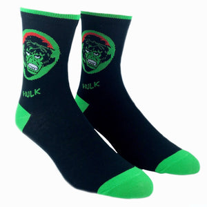 Socks - Marvel Hulk Feature Socks