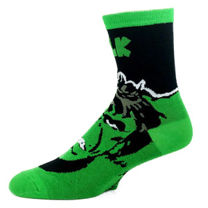 Marvel Hulk Headline Superhero Socks - The Sock Spot