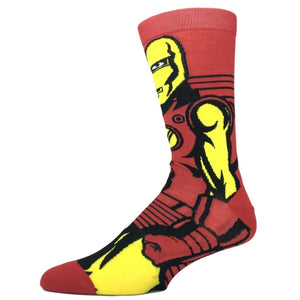 Marvel Iron Man 360 Superhero Socks - The Sock Spot