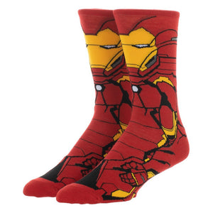 Socks - Marvel Iron Man 360 Superhero Socks