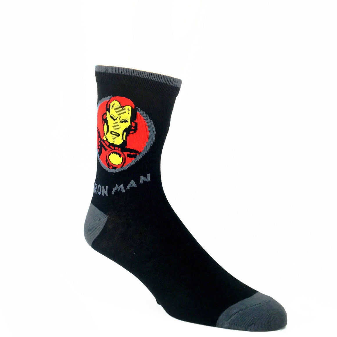 Marvel Iron Man Feature Superhero Socks - The Sock Spot