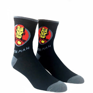 Marvel Iron Man Feature Superhero Socks