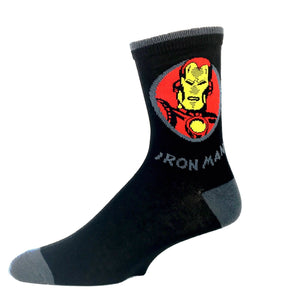 Socks - Marvel Iron Man Feature Socks