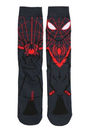 Socks - Marvel Miles Morales Spider-Man 360 Superhero Socks