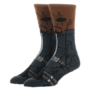 Marvel Nick Fury 360 Superhero Socks - The Sock Spot