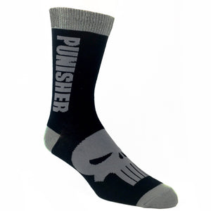 Marvel Punisher Vertical Socks - The Sock Spot