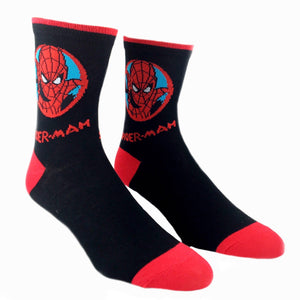 Marvel Spider-Man Feature Superhero Socks - The Sock Spot