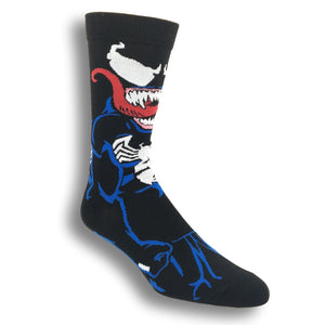 Marvel Venom 360 Superhero Socks - The Sock Spot