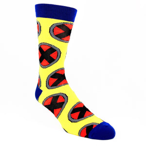 Socks - Marvel X-Men Logo All Over Socks