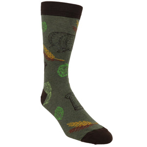 Micro Brew Men's Socks by K.Bell - The Sock Spot