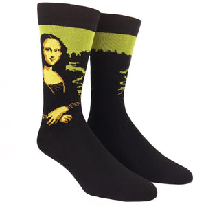 Mona Lisa Bamboo Art Socks by SockSmith - The Sock Spot