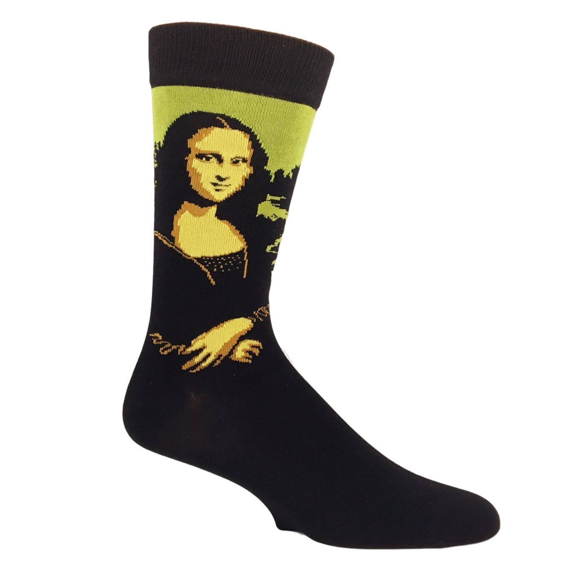 Socks - Mona Lisa Bamboo Art Socks
