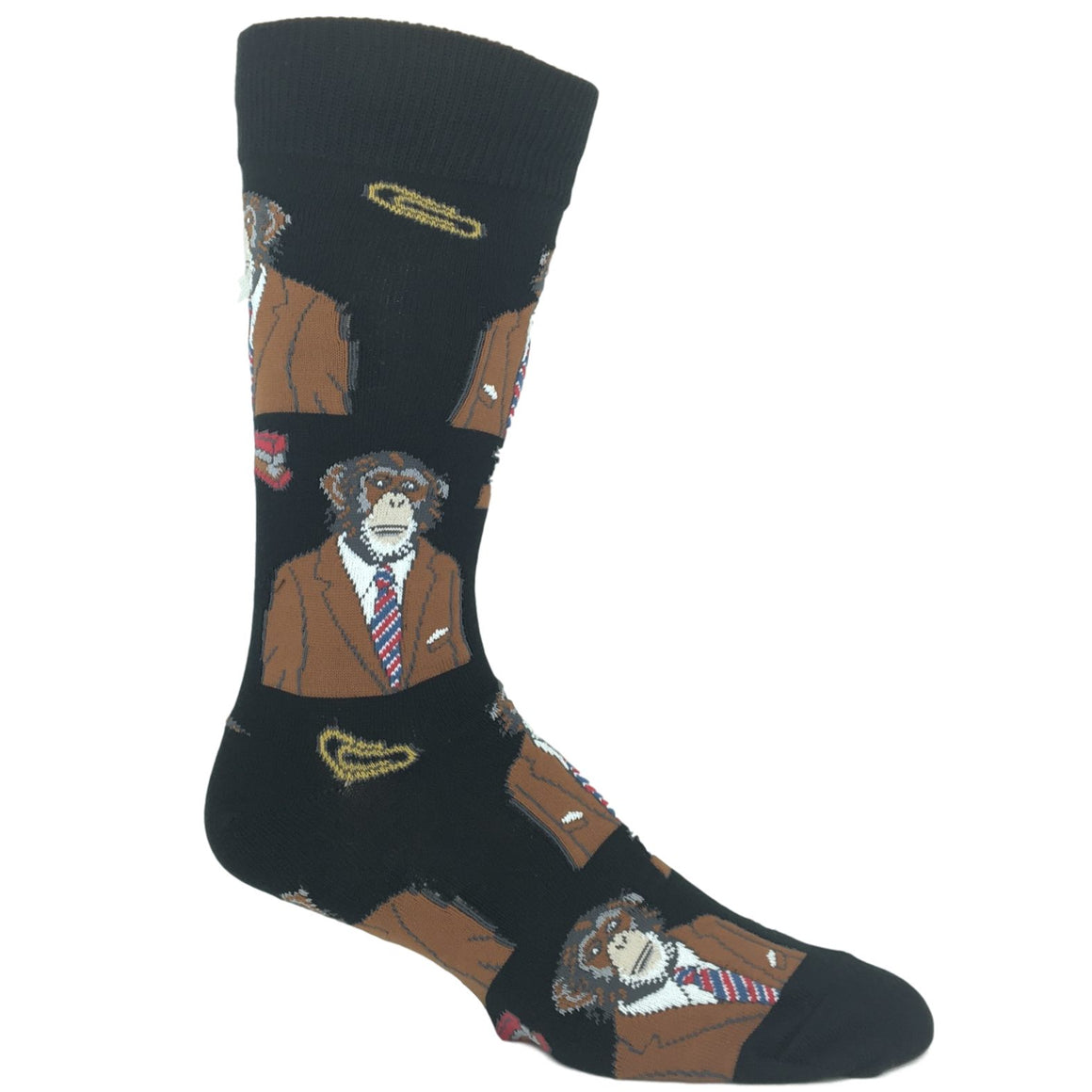 Socks - Monkey Biz Socks - Black