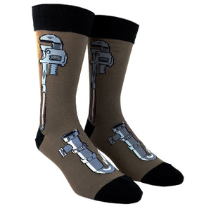 Socks - Monkey Wrench Socks - Brown