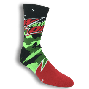 Mountain Dew Socks by Odd Sox - The Sock Spot