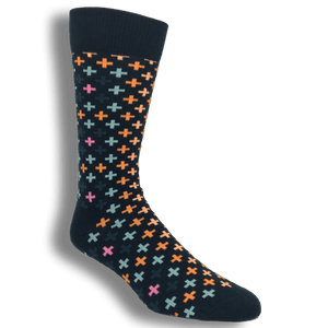 Socks - Multi Colored Plus Socks By Happy Socks