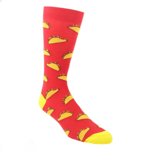 Munchin' on a Taco Socks by K.Bell - The Sock Spot