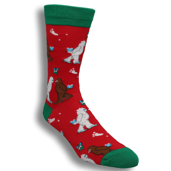 9aa222b8109c Mythical Kissmas Christmas Socks by SockSmith
