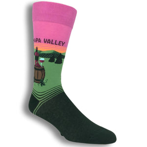 Napa Valley Socks by Hot Sox - The Sock Spot