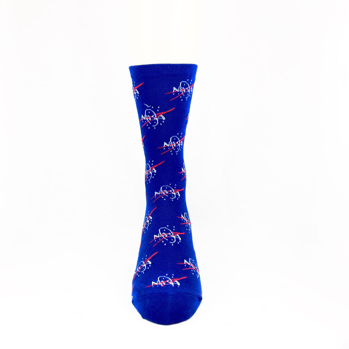 NASA Logo Repeat Socks