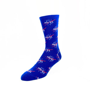 NASA Logo Repeat Socks - The Sock Spot