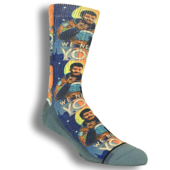 Socks - Neil DeGrasse Tyson Printed Socks