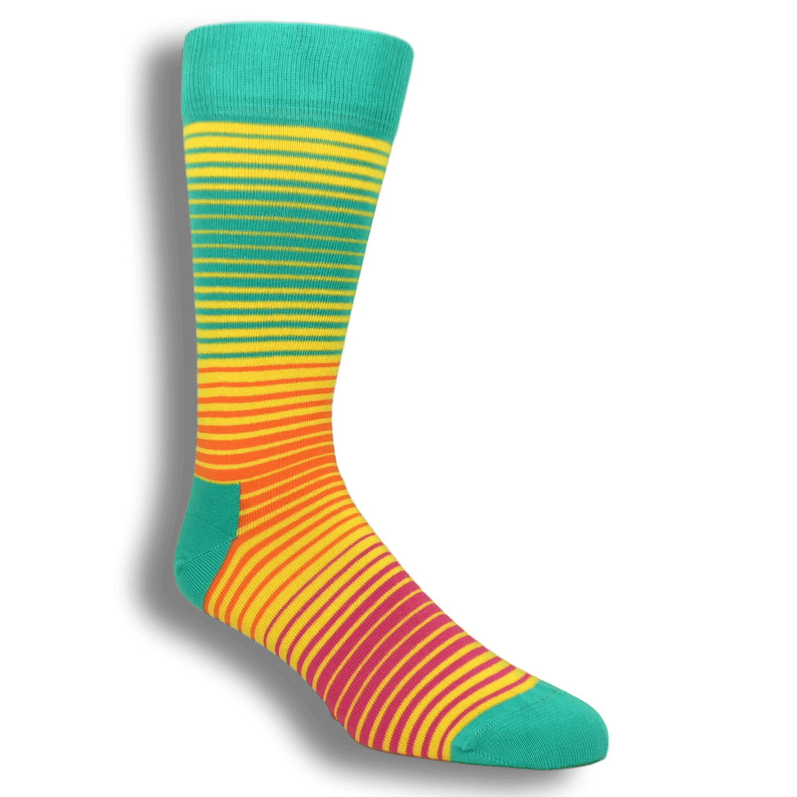 Neon Sunrise Socks by Happy Socks - The Sock Spot
