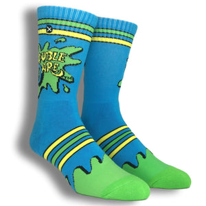 Nickelodeon Double Dare Athletic Socks by Odd Sox - The Sock Spot