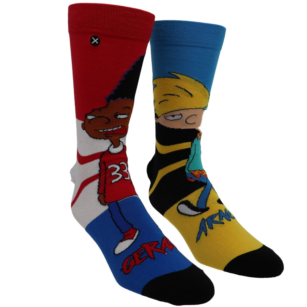 Nickelodeon Hey Arnold! 'Hillwood Boys' Socks by Odd Sox - The Sock Spot