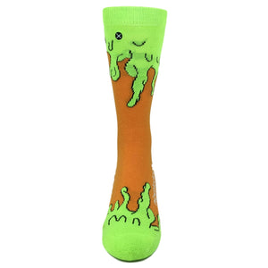 Nickelodeon Slime Athletic Socks by Odd Sox - The Sock Spot
