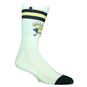 Nickelodeon SpongeBob SquarePants, Punkbob Printed Athletic Socks by Odd Sox - The Sock Spot