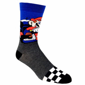 Nintendo Mario Kart Racer Socks - The Sock Spot