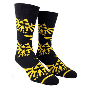Nintendo Zelda Large All Over Print Socks - The Sock Spot